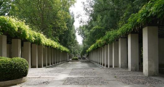 Parkontwerp stedelijk landschap