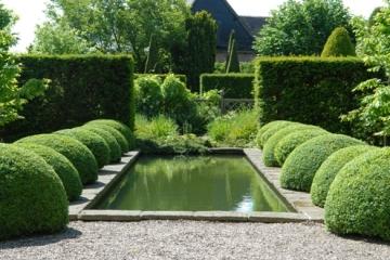 klassieke tuin strakke tuin Laren