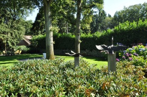tuinontwerp Gooi kunst in tuin
